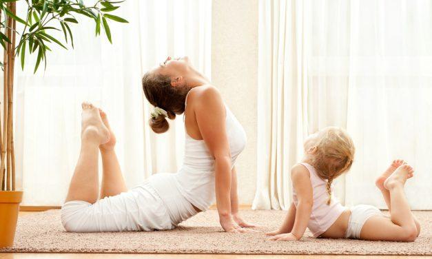 Yoga infantil, una actividad extraescolar muy recomendable