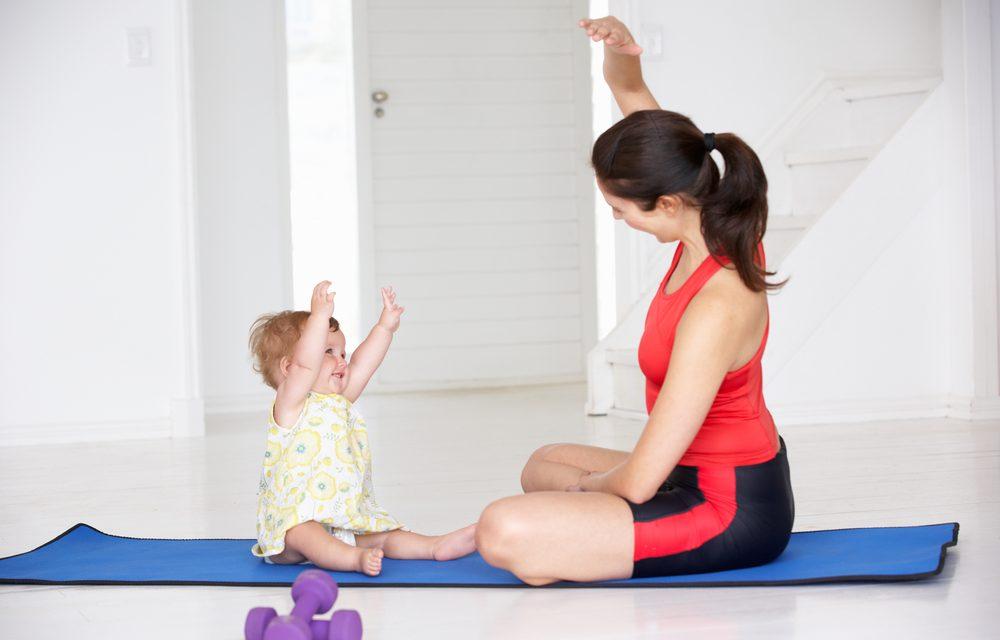 Mamás en forma: rutina de ejercicios postpart
