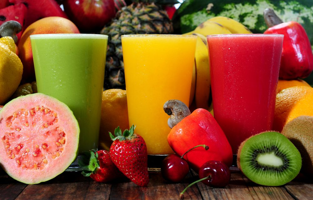 El poder antioxidante de los zumos