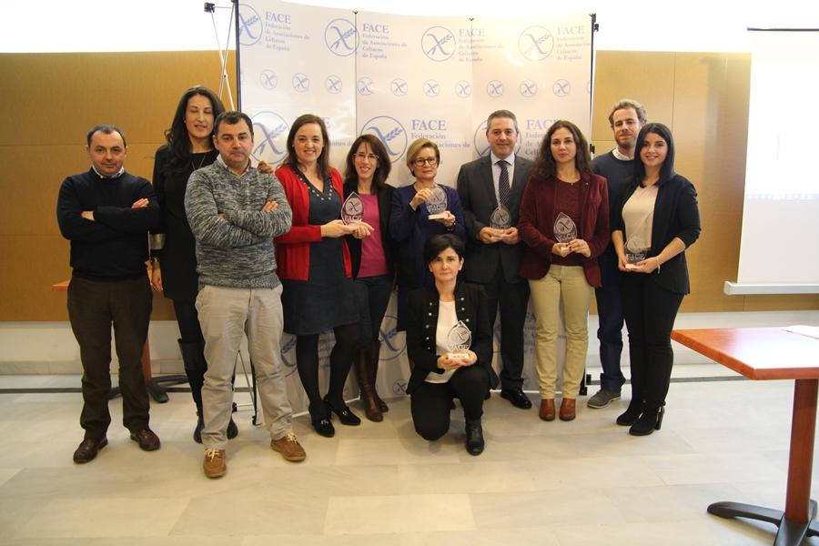 Cinco proyectos reciben el premio FACE por su compromiso con la celiaquía