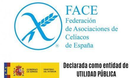 La Federación de Asociaciones de Celiacos declarada Entidad de Utilidad Pública