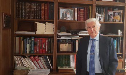 """Dr. Antonio Bascones: """"Hay que invertir en cultura, investigación y educación, para evitar la fuga de cerebros"""""""