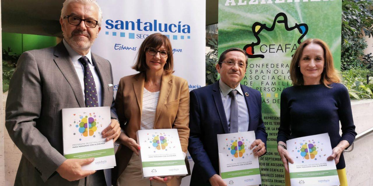 CEAFA Presentan el «Programa de estimulación para personas con Alzheimer»