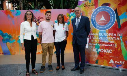 Campaña de concienciación sobre las valvulopatías en Madrid