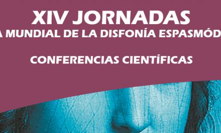 AESDE celebra el Día Mundial de la Disfonía Espasmódica con charlas científicas