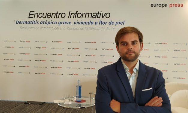 Jaime Llaneza: «Necesitamos dar a conocer la Dermatitis Atópica Grave y que se deje de banalizar con ella»