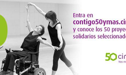 Se eligen los 50 proyectos de la iniciativa solidaria de Cinfa 'Contigo, 50 y más'