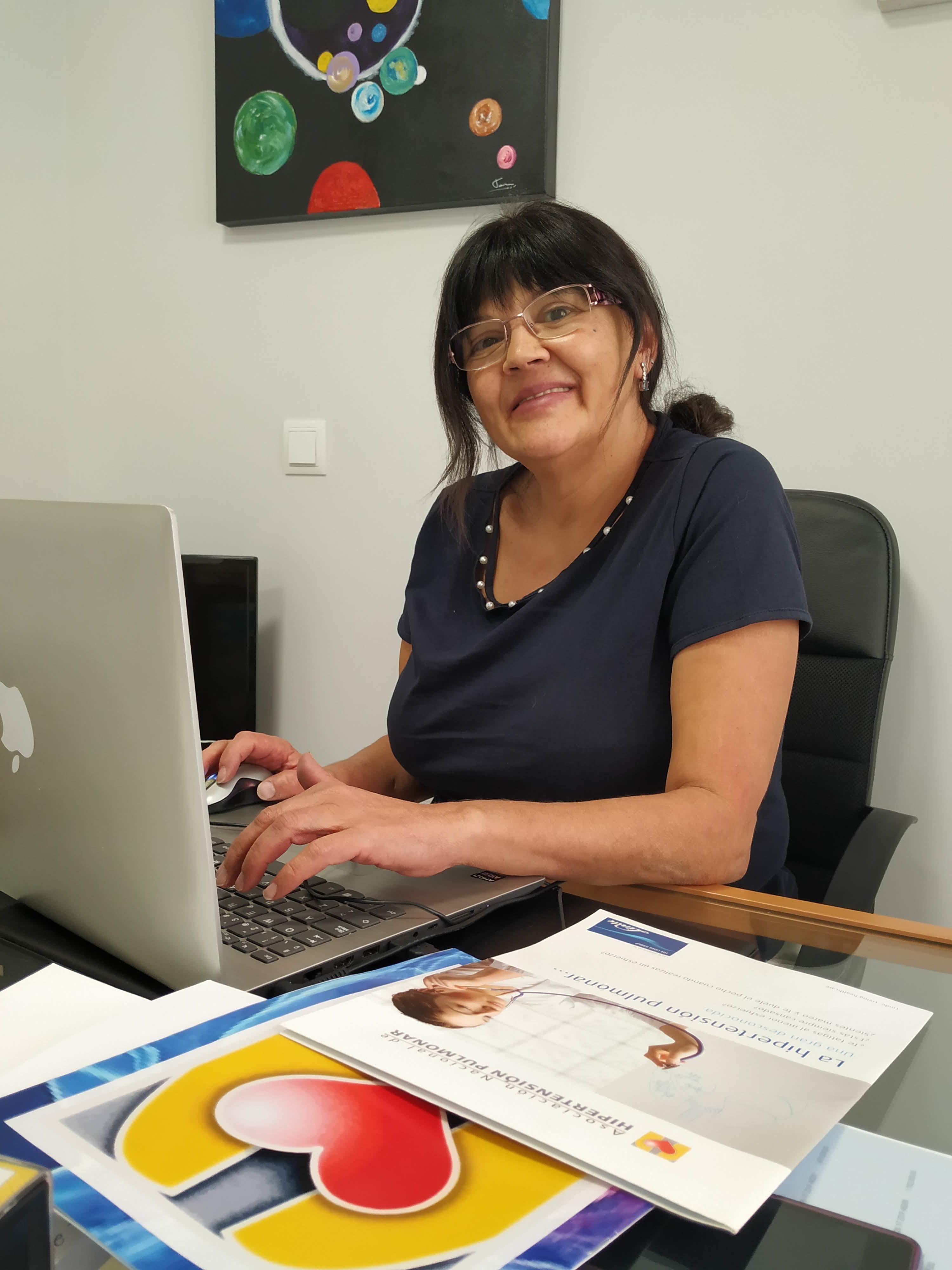 """Evva Garcia Hipertension Pulmonar 2 e1571653069410 - Eva García: """"Necesitamos que todas las personas con Hipertensión Pulmonar tengan un diagnóstico"""""""