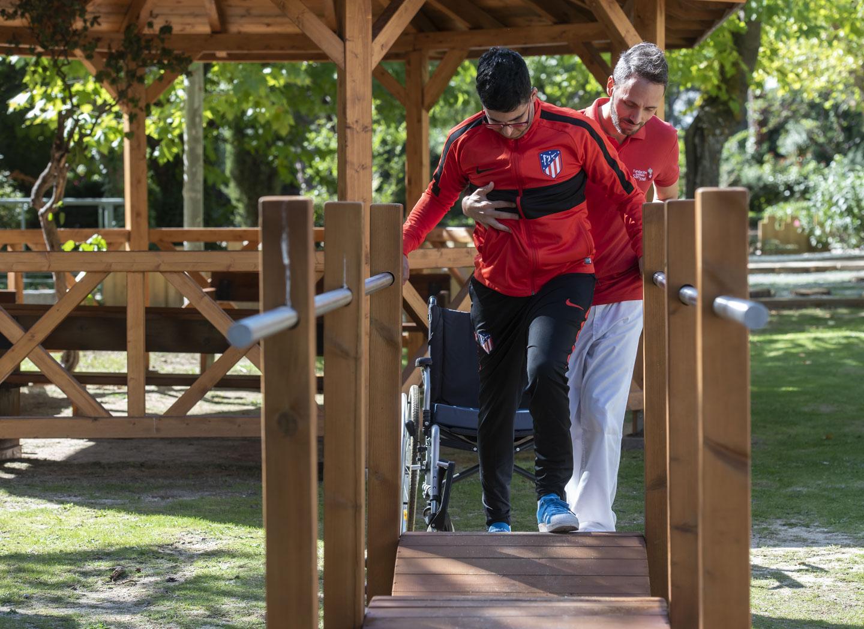 FUNDACION INSTITUTO SAN JOSE 34 - El Instituto San José inaugura un circuito exterior de rehabilitación para pacientes con daño cerebral adquirido