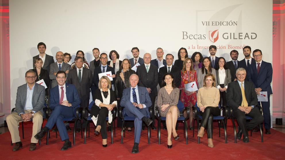 Las VII Becas Gilead premian a 18 proyectos de investigación biomédica