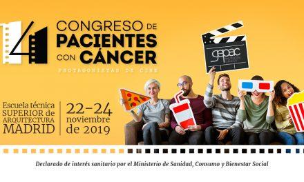 El Congreso de Cáncer de GEPAC, declarado de interés sanitario por la Comunidad de Madrid