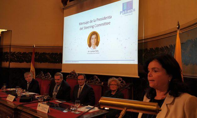 Carmen Peña: «Paciente y población deben tener desde la infancia educación básica y específica en salud y uso de medicamentos»