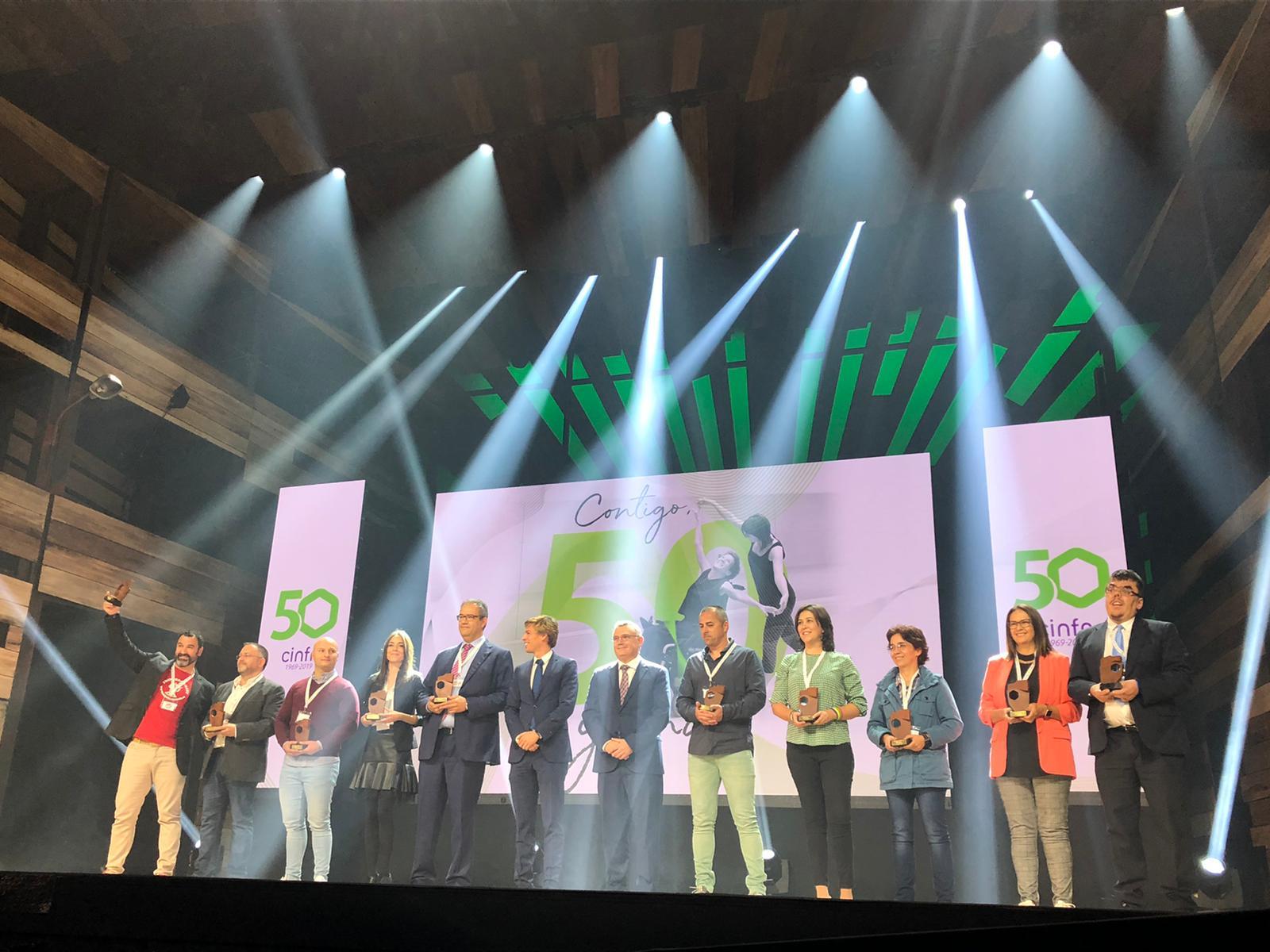 """cinfa 2 - Cinfa celebra la gala """"Contigo, 50 y más"""" en la que ha premiado a 50 asociaciones de pacientes"""