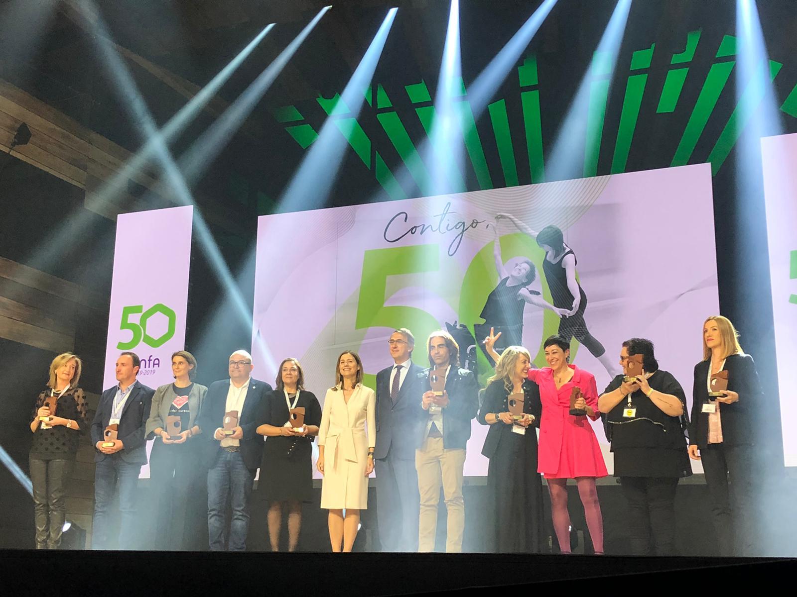"""cinfa 3 - Cinfa celebra la gala """"Contigo, 50 y más"""" en la que ha premiado a 50 asociaciones de pacientes"""