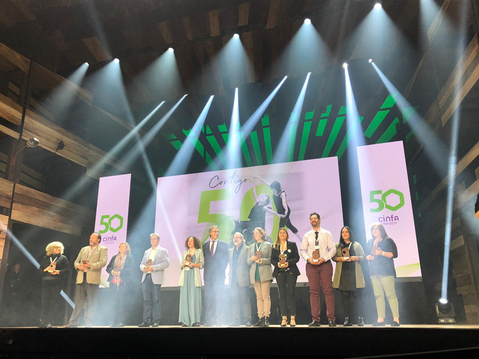 """cinfa 4 - Cinfa celebra la gala """"Contigo, 50 y más"""" en la que ha premiado a 50 asociaciones de pacientes"""