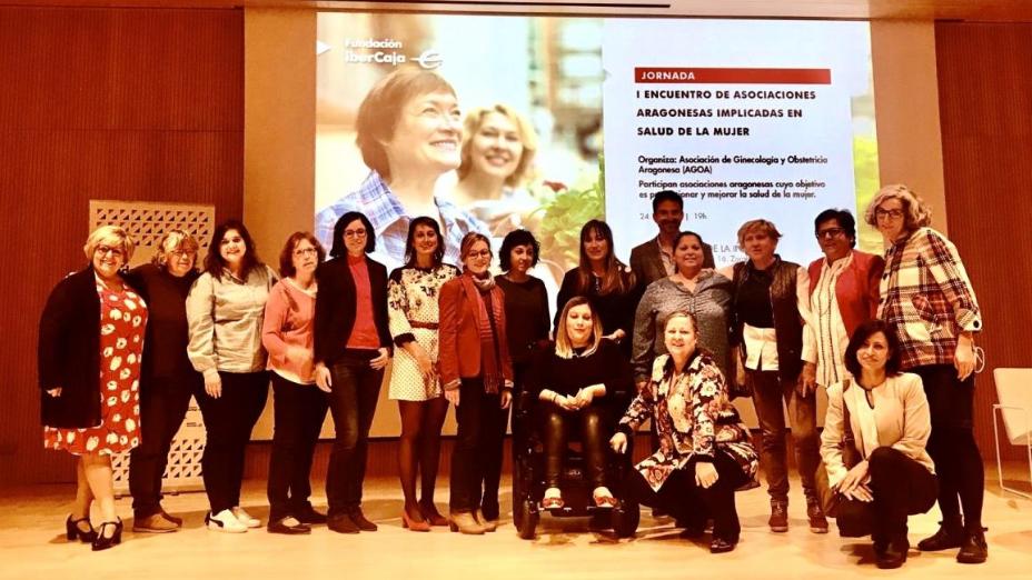 El I Encuentro de Asociaciones Aragonesas se centra en la salud de la mujer