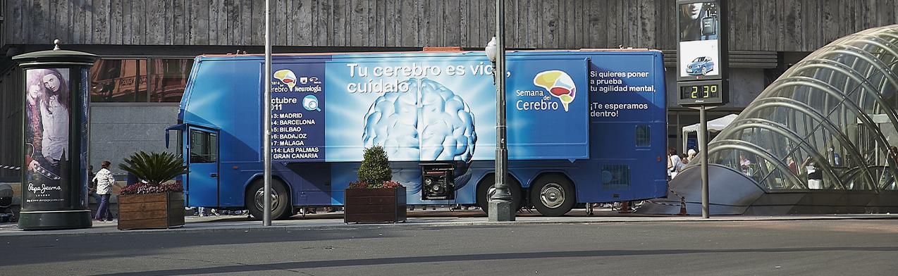 La SEN celebra la Semana del Cerebro con un autobús itinerante que comprobará el estado de salud del cerebro de los españoles