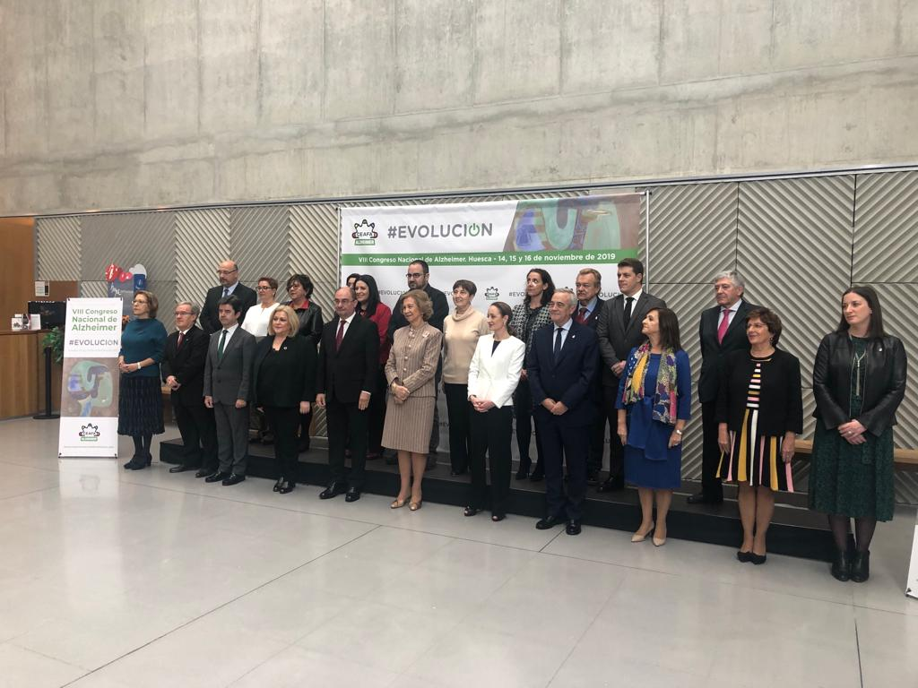 Fotocol ceafa - CEAFA celebra su VIII Congreso Nacional de Alzheimer