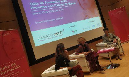 Fundación SOLTI celebra unos talleres formativos para pacientes con cáncer de mama