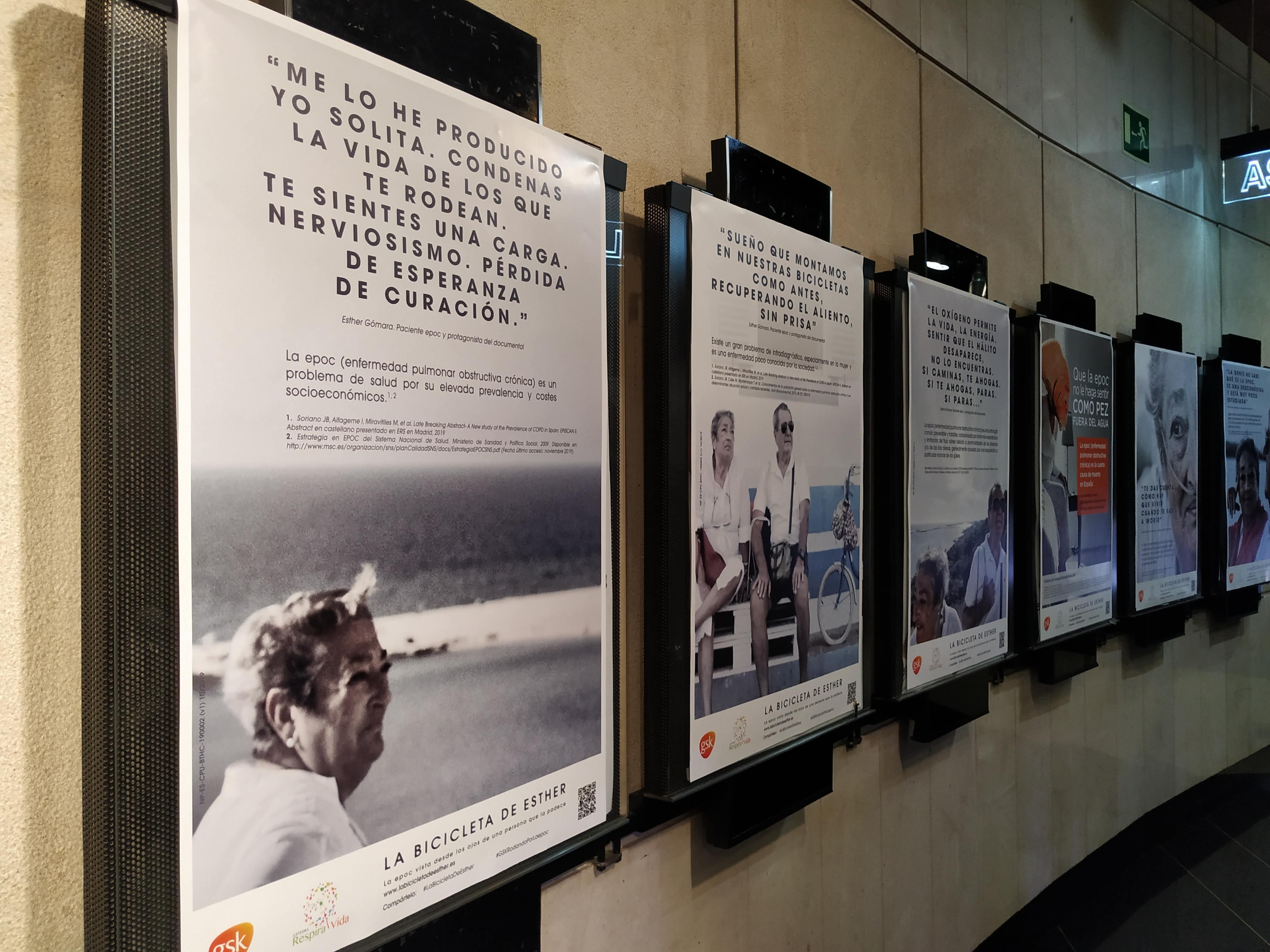 """bicicleta esther - GSK y la Cátedra RespiraVida presentan el documental """"La bicicleta de Esther"""" para concienciar sobre la epoc"""