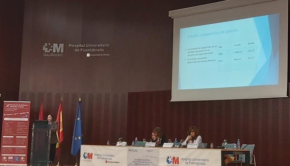 Más de 300 profesionales sanitarios acuden al XI Curso de Diagnóstico de Enfermedad Celiaca, organizado por la Asociación de Celiacos y Sensibles al Gluten de Madrid