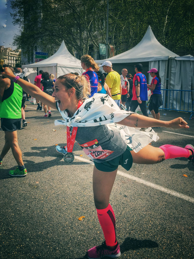 """er4 - Elena Román: """"De todas las pastillas que he tomado en la vida, la más eficaz ha sido el deporte"""""""