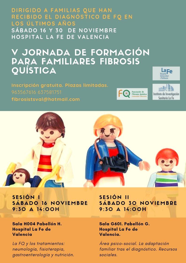 formacion fq - La Asociación de Fibrosis Quística de la Comunidad Valenciana organiza las V Jornadas de formación para familiares