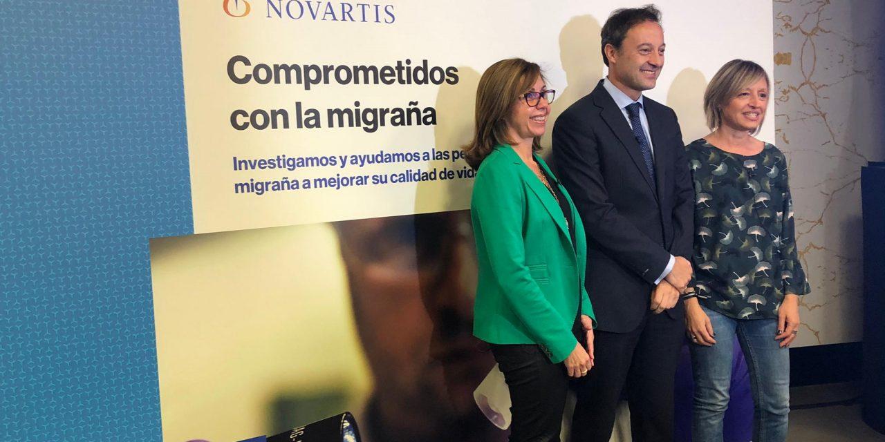 Novartis lanza un medicamento innovador para pacientes con migraña crónica