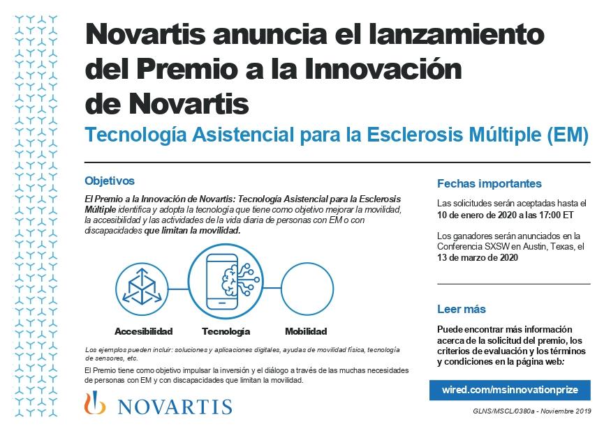 Infografía Novartis lanza el Premio a la Innovación en Tecnología Asistencial para necesidades no cubiertas en EM page 0001 - Novartis lanza el Premio a la Innovación en Tecnología Asistencial para la Esclerosis Múltiple