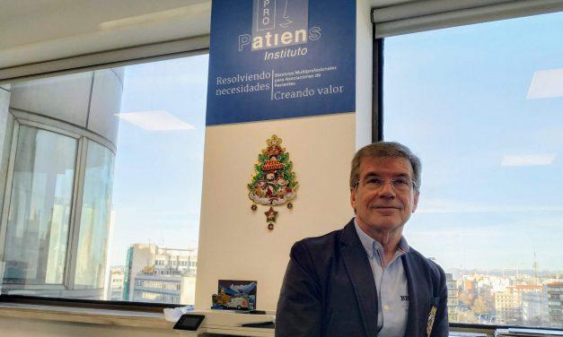 Jesús Díaz, Vicepresidente Ejecutivo Instituto ProPatiens: «Cerramos 2019 con acuerdos con aproximadamente 50 asociaciones de pacientes nacionales»