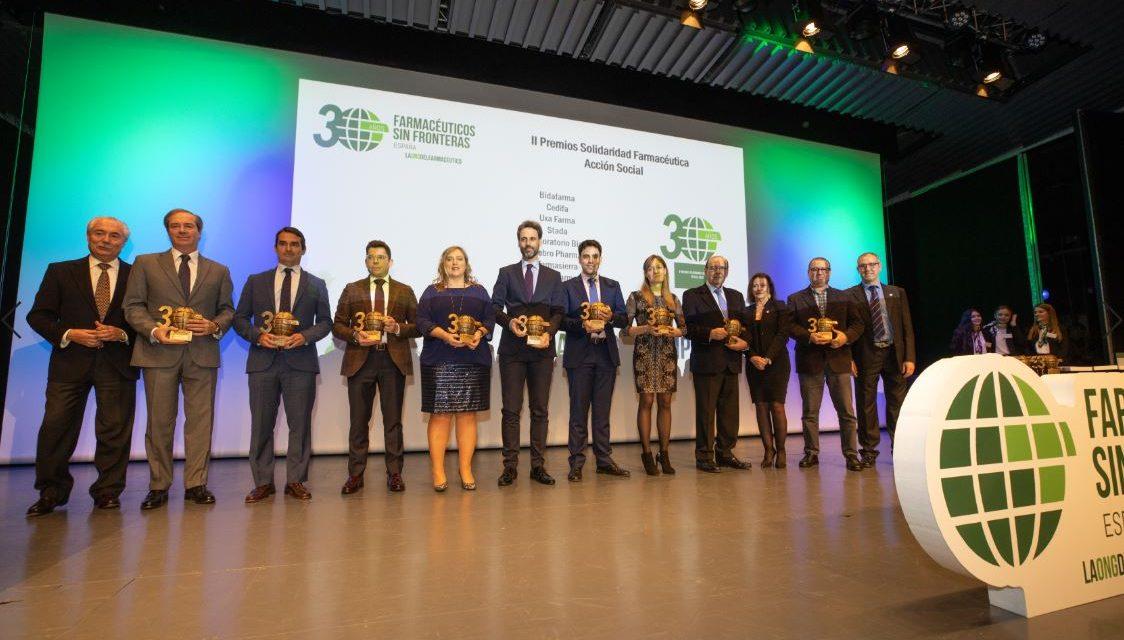 Bial recibe el II Premio Solidaridad Farmacéutica