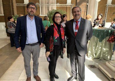 Daniele Lo Re Pepi Masero Fernando Mugarza scaled 400x284 - Las fotos y frases de la Jornada de Asociaciones de Pacientes en Andalucía