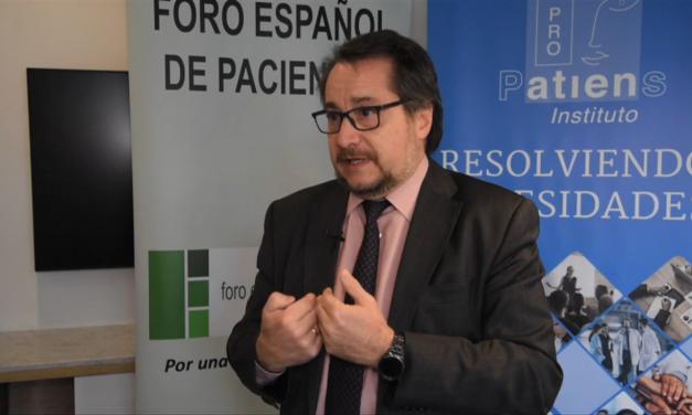 José Luis Baquero: «El Instituto ProPatiens supone un gran apoyo para la profesionalización de las Asociaciones de Pacientes»