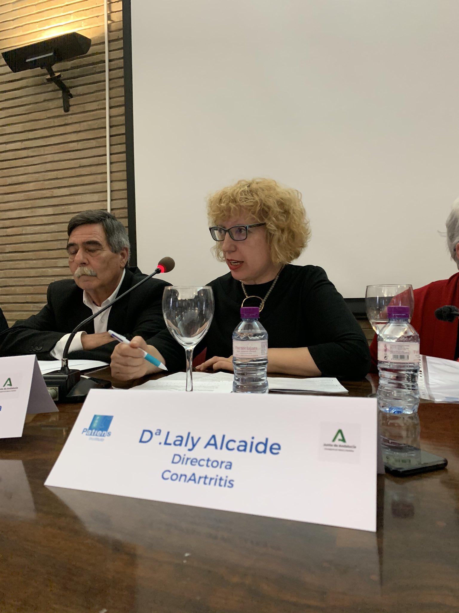 """LALY ALCAIDE - El Instituto ProPatiens celebra en Sevilla la """"Jornada Medicamento y Sociedad: Las Asociaciones de Pacientes en Andalucía"""""""