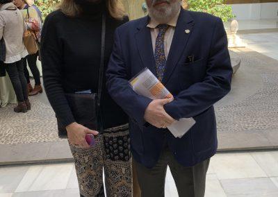 Rocío Aguilar Alfonso Carmona scaled 400x284 - Las fotos y frases de la Jornada de Asociaciones de Pacientes en Andalucía