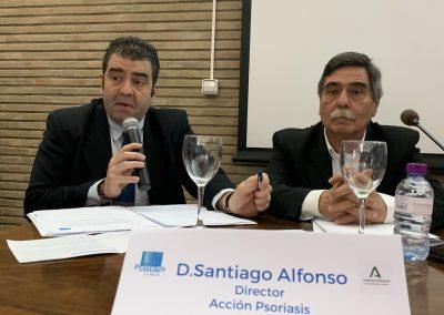 SANTIAGO ALFONSO 400x284 - Las fotos y frases de la Jornada de Asociaciones de Pacientes en Andalucía
