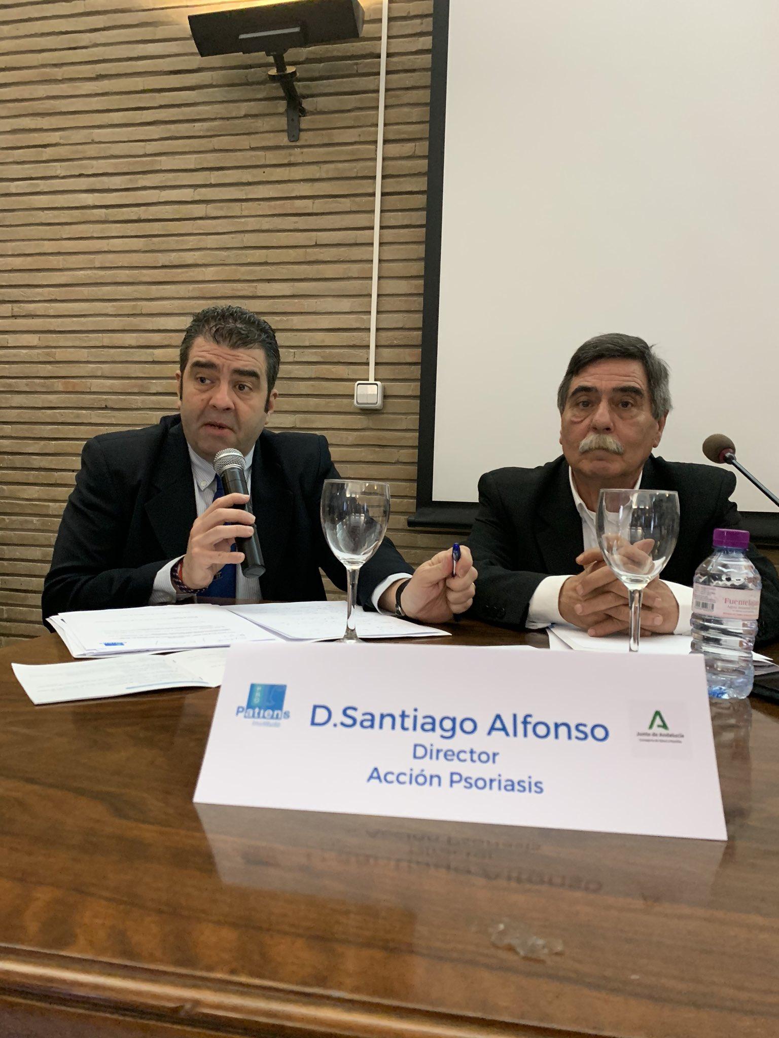 """SANTIAGO ALFONSO - El Instituto ProPatiens celebra en Sevilla la """"Jornada Medicamento y Sociedad: Las Asociaciones de Pacientes en Andalucía"""""""