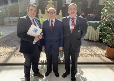 Santiago Alfonso Julio Sánchez Fierro Fernando Mugarza scaled 400x284 - Las fotos y frases de la Jornada de Asociaciones de Pacientes en Andalucía