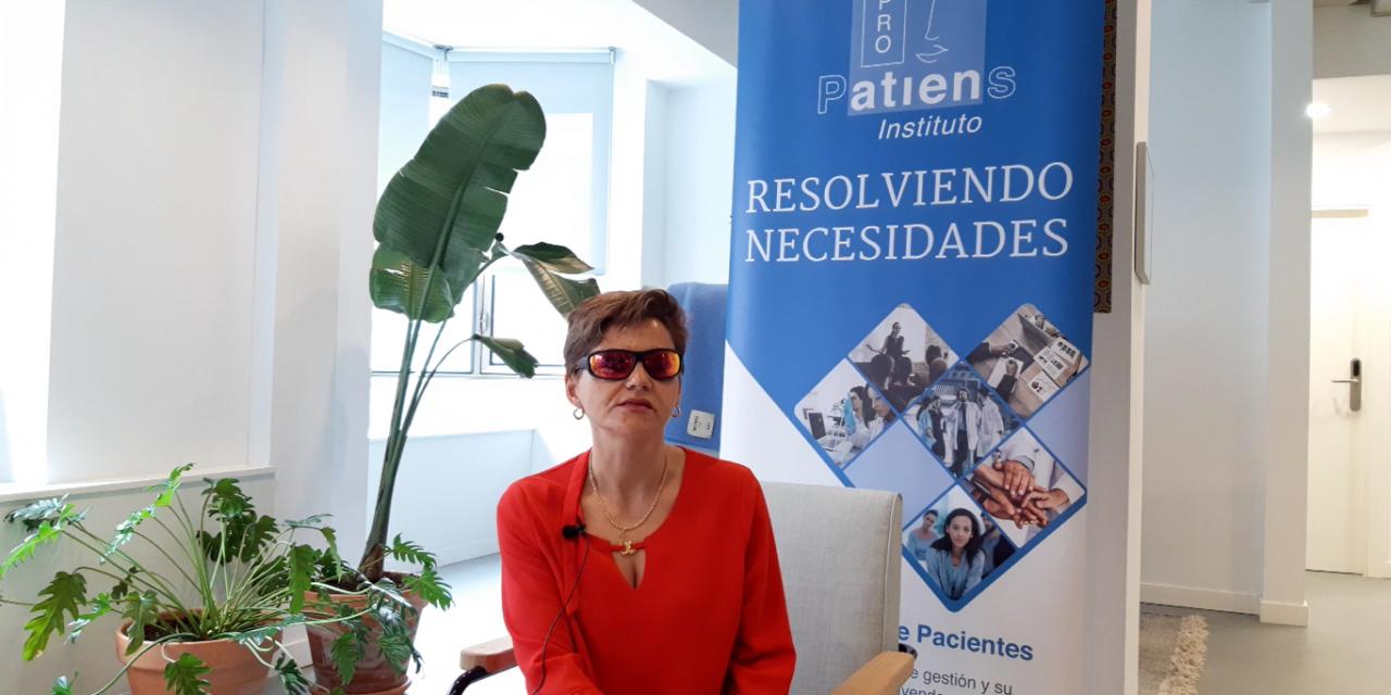 """Yolanda Asenjo: """"El Instituto ProPatiens nos puede ayudar a buscar la financiación que necesitamos para proyectos de investigación de la Aniridia"""""""