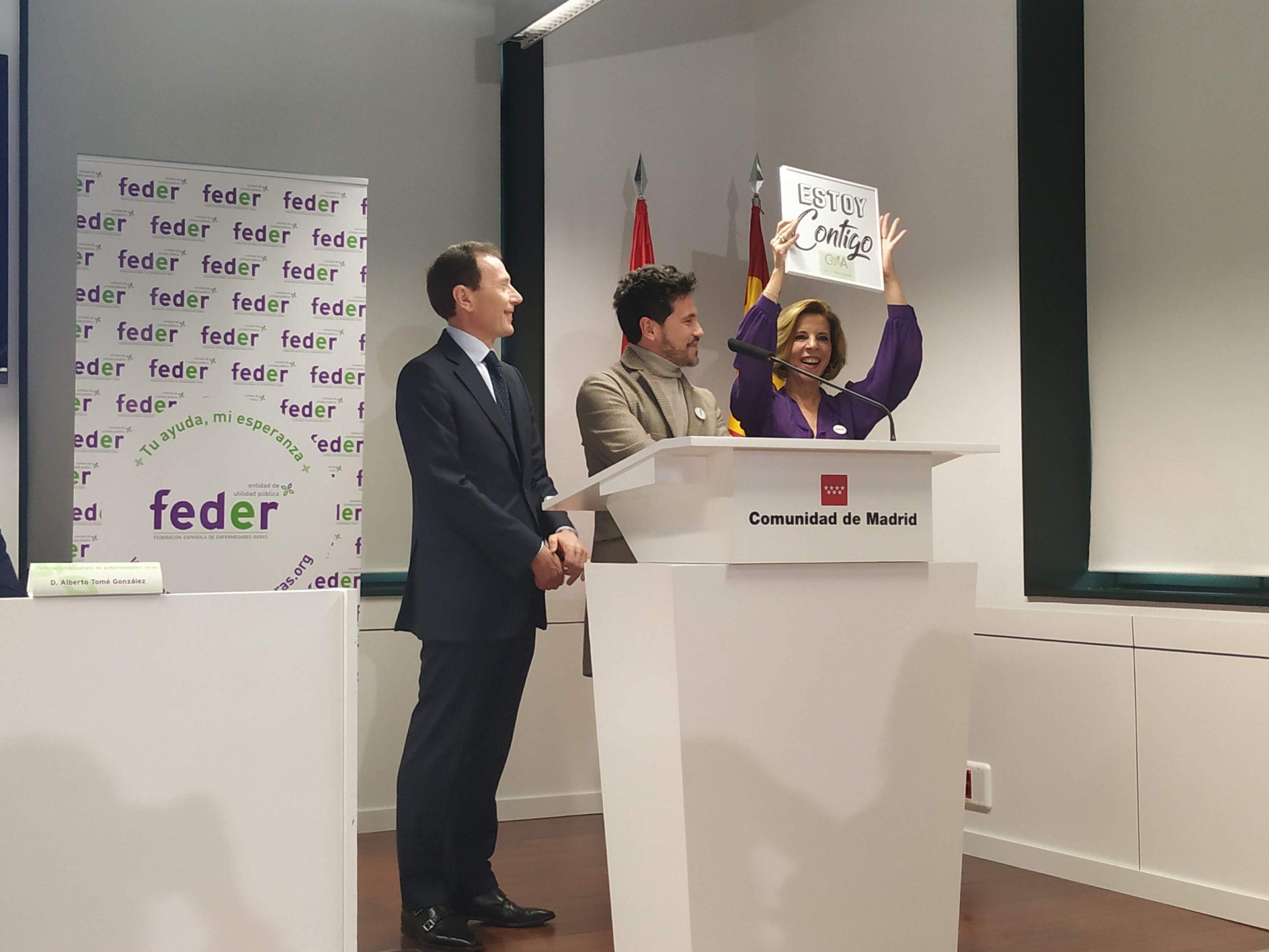 """feder 3 scaled - """"Crecer contigo, nuestra esperanza"""", el lema de FEDER para el Día Mundial de las Enfermedades Raras, el próximo 29 de febrero"""