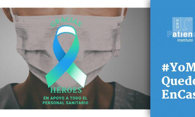 Instituto ProPatiens: un lazo en apoyo y agradecimiento a todo el personal sanitario