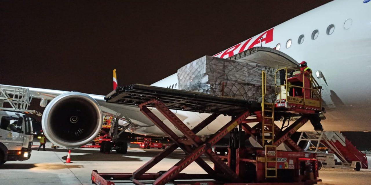 Fenin, Grupo Oesía e Iberia crean un corredor aéreo para la llegada de productos sanitarios a españa