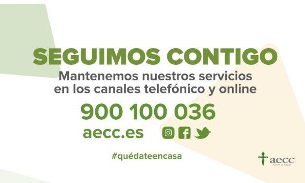 Profesionales de la AECC ayudan a pacientes y familiares a través de las redes sociales