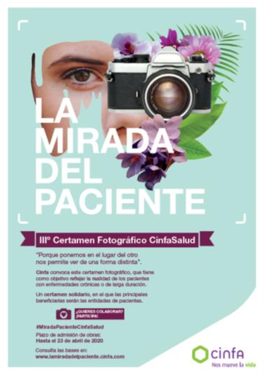 cinfa la mirada del paciente - Cinfa convoca el III Certamen fotográfico CinfaSalud: 'La mirada del paciente'