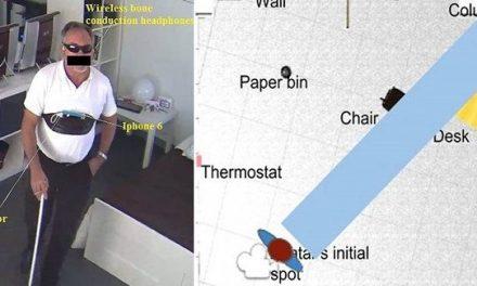 Investigadores españoles desarrollan una app que permite a los ciegos percibir de lejos objetos y personas