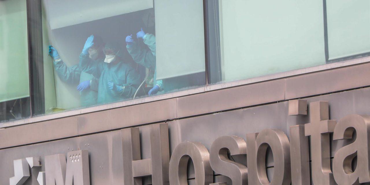 2.600 profesionales del Servicio Madrileño de Salud están contagiados por coronavirus