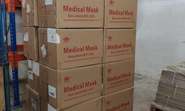 STADA dona 50.000 mascarillas y productos de higiene para la lucha contra el coronavirus