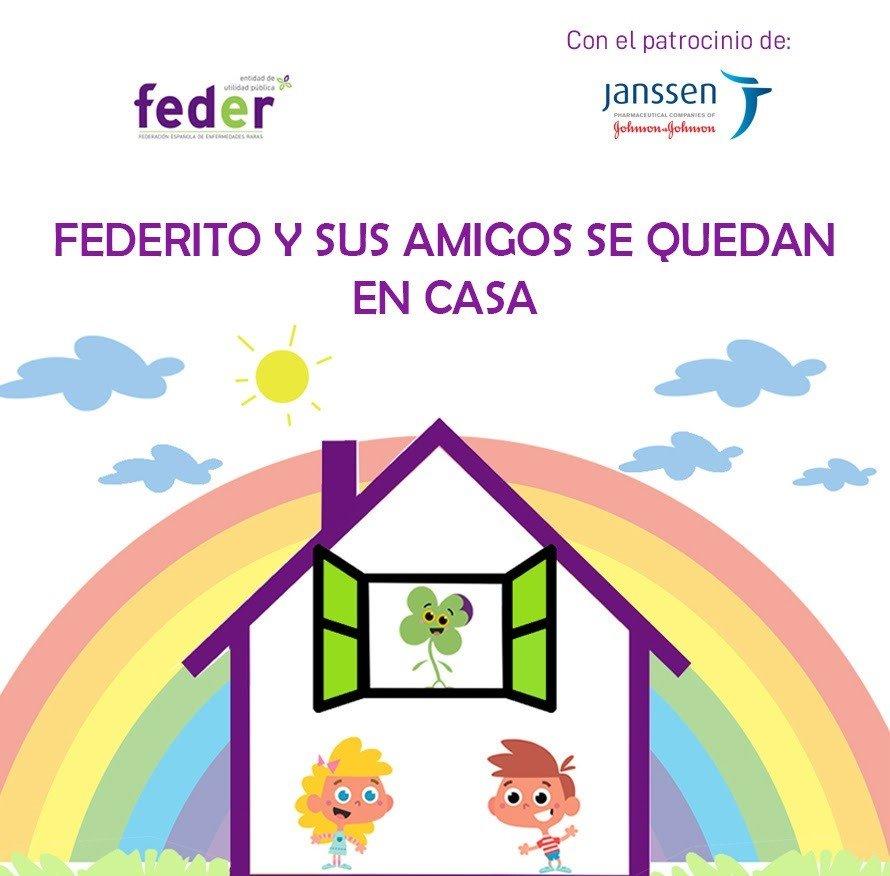 federito - FEDER lanza un nuevo proyecto educativo para fomentar el aprendizaje desde el hogar