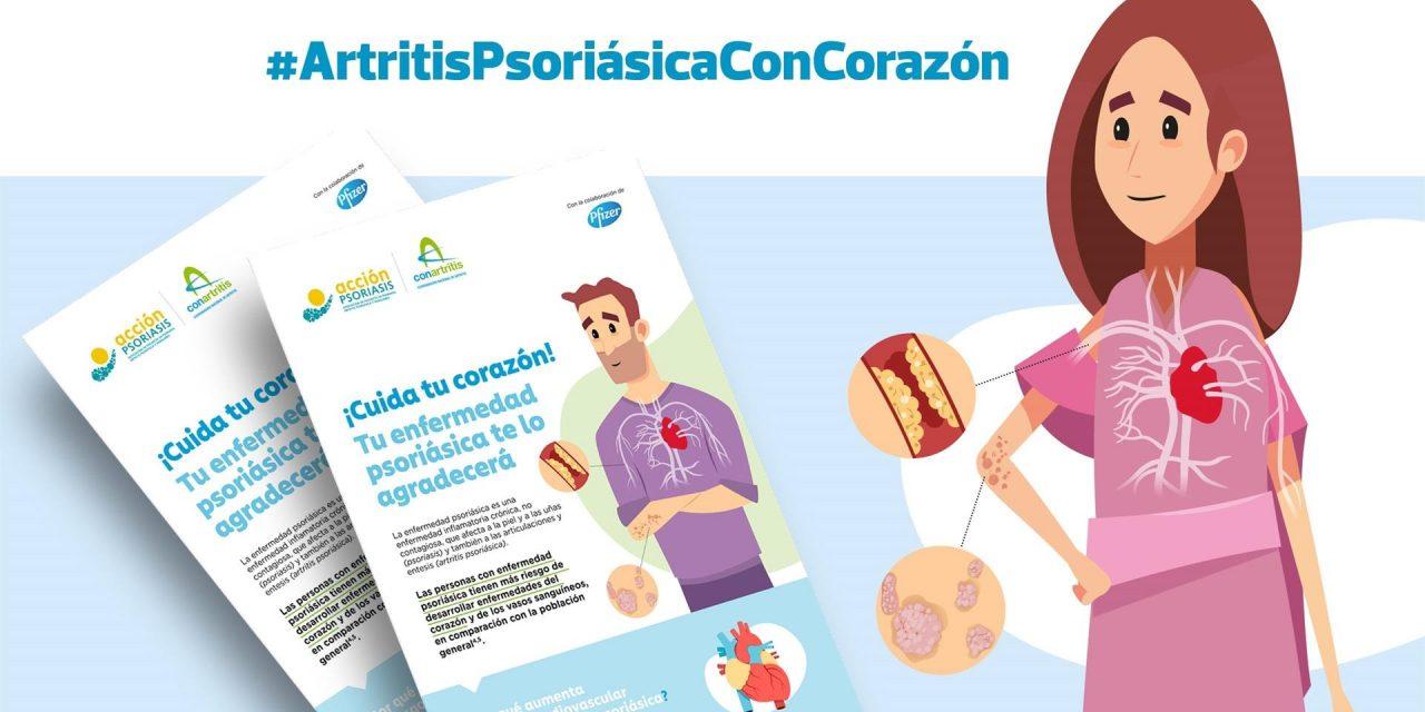 ConArtritis y Acción Psoriasis lanzan la campaña 'Cuida tu corazón. Tu enfermedad psoriásica te lo agradecerá'