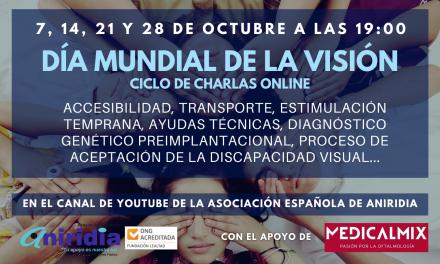 Charlas Online Gratuitas para visibilizar la Aniridia en su Día Mundial